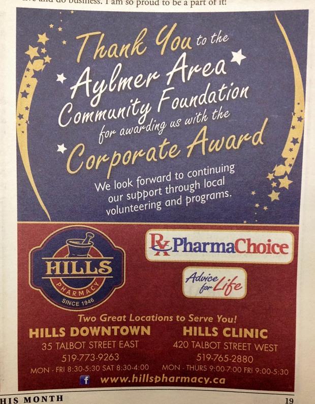 AACF Hills Corporate Award