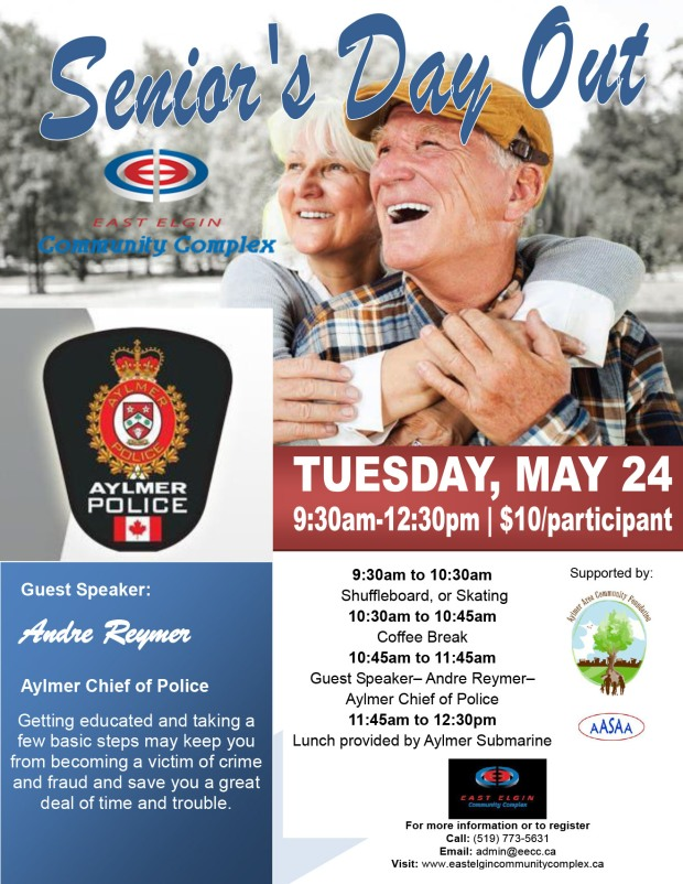Seniors Day Out May
